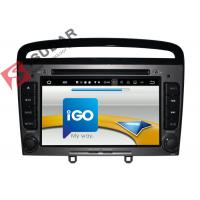 Quality HMDI Output Double Din Dvd Car Stereo , Peugeot 408 / Peugeot 308 Dvd Player Built - In WIFI wholesale