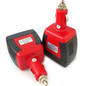 Cheap 75W Modified Sine Wave Car Power Inverter DC 12V To AC 220v Converter + USB for sale