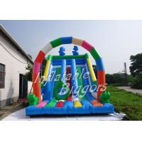 Quality Puncture-Proof Backyard Inflatable Slides , Inflatable Slide For Birthday Party wholesale