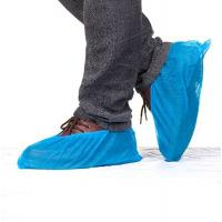 Quality Anti Slip Disposable CPE Overshoes Plastic Shoe Cover Made By Machine wholesale