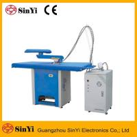 China YTT-D Laundry Dry Cleaning Shop Finishing Equipment vacuum Ironing Table on sale