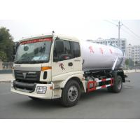 China 12CBM Vvacuum Cleaner Truck , 10 Tons / 12 Tons Foton 4 X 2 Sewage Suction Tanker Truck on sale
