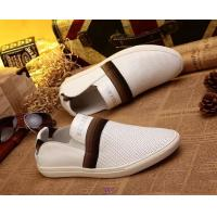 Quality New arrival top grade b-urberry mens leisure designer breathable casual with holes shoes wholesale