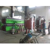 Quality Continuous Rubber Belt PU Sandwich Panel Production Line For 30 - 100mm Sandwich Panels wholesale