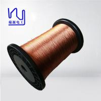 Quality High Voltage Copper Flat Litz Wire Colored Covered 0.03-0.8mm Size wholesale