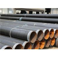 Quality Black 3PE Anti Corrosion Pipe For Transfer Water , Gas / Oil And Other Fluid wholesale