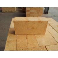 China Low Iron Content High Alumina Fire Bricks Refractory Corrosion Resistance on sale