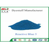 Quality Eco Friendly Textile Dyeing Of Cotton With Reactive Dyes C I Reactive Blue 5 wholesale