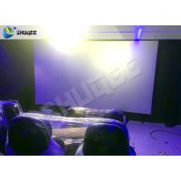 Quality Dymatic 5D Motion Chairs 5D Cinema System With 12 Special Effect wholesale