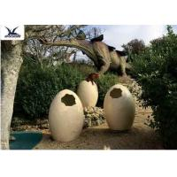 Quality Animatronic Giant Dinosaur Eggs Models For Jurassic Park Decoration 5 Meters wholesale