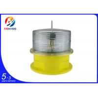 Quality AH-MI/E Red LED Aviation Obstruction Lights , Red Flashing lamp Professional wholesale