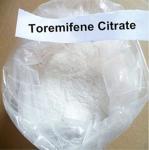 Quality Raw Anti Estrogen Toremifene Citrate Steroid Powder 99% CAS 89778-27-8 for Bodybuilding wholesale