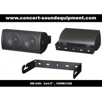 "Quality 91dB Conference Audio Systems 16ohm 100W 2x4.5"" Aluminium Speaker With Wall Bracket wholesale"