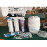 Buy cheap House Reverse Osmosis Water Filtration System / Drinking Water Treatment Systems from wholesalers