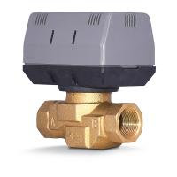 China 2 Way / 3 Way Brass Motorized Zone Valve 1.6MPA For Cold And Hot Water on sale