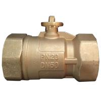 Quality OEM & ODM 3 Way Electric Ball Valve , Brass Electric Actuated Ball Valve wholesale