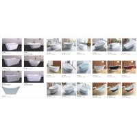 China Circular Shape Solid Surface Stone Bathtub Freestanding Tub ABS Material on sale