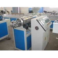 Quality Plastic PVC Soft Pipe Extrusion LIne , PVC Fiber Reinfoeced Hose Making Manchine wholesale
