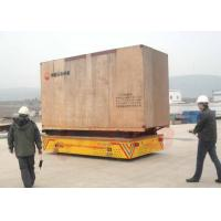 China Precast Concrete Factory Trackless Material Handling Carriage on sale