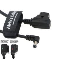 China Alvin's Cables Safe Tap D Tap to 2.1 DC 12v Right Angle Cable for KiPRO LCD Monitors 60CM on sale