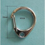 Quality 28mm Snap Hook Keyring wholesale