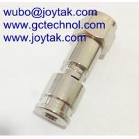 China Compression Connector F Type Mini Coaxial Cable RG174 / F.C.033 on sale