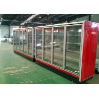 Buy cheap Auto Defrosting Multideck Display Fridge , Beverage Display Cooler With Triple Glazed Door from wholesalers