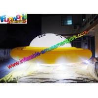 China Advertising Inflatables UFO Helium Balloon With LED Lighting Decoration on sale