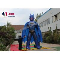Cheap 5M High Batman Inflatable Cartoon Characters With Blower For Trede Show Advertising for sale