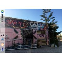Quality Electric Dynamic 5D Cinema System Simulation System  For Asumement Park wholesale