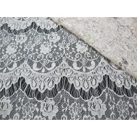 Quality Thin hollow nylon eyelash French lace scalloped lace fabric for lady garment(CY-DN0002) wholesale