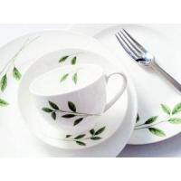 Quality 20 pieces porcelain western dinner set wholesale