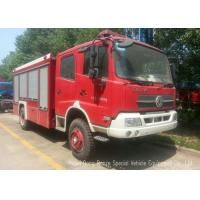 Quality Offroad 4X4 Rescue Fire Truck With 3000 Liters Water Tank 1500 Liters Foam wholesale