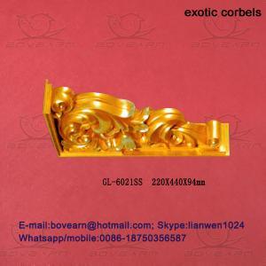 Quality Decorative Polyurethane (PU) Exotic Corbels wholesale