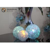Quality Set Of 3 Glass Ball Lights Surface With Ice Like Finish OEM / ODM Available wholesale