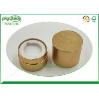 China High End Cardboard Cylinder Tubes , UV Coating Kraft Paper Tube Packaging on sale