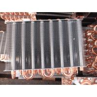 Quality 7, 7.94, 9.52mm Dia Customized Copper Tube Aluminum Fin Air Cooled Air Conditioning Cooling Coil wholesale