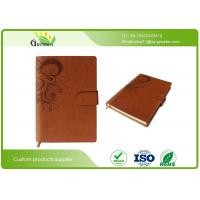 Quality Eco Friendly A4 A5 Size Recycled Custom Embossed Notebook For School / Office Using wholesale
