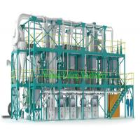 China 30-500 TPD Wheat Flour Milling Machine Flour Mill Equipment One Year Warranty on sale