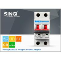 Quality IEC60898 ISO9001 Electrical mini circuit breaker overcurrent protection wholesale