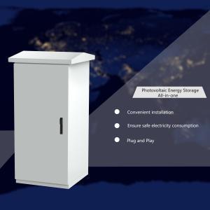 China 110V On Grid Off Grid Hybrid Solar System , PV Diesel And Battery System on sale