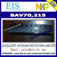 Quality BAV70,215 - NXP Semiconductors - DIODE ARRAY 100V 215MA TO236AB - Email: sales009@eis-ic.c wholesale