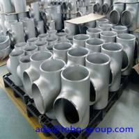 Quality 1 - 72 inch Stainless Steel Pipe fittings Tee for Petroleum WP310S wholesale