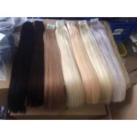 China Virgin Human Tape Hair Human Hair Weft Double Drawn Tape in Hair Extensions Virgin Human on sale