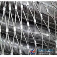 Cheap X-Type Cable/Rope Mesh With Stainless Steel for Architecture Applications for sale