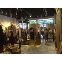 Quality Custom Wood Display Shelving & Stands For Garment Shops / Wine Stores / Malls wholesale