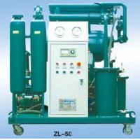 China Single Stage High Efficiency Vaccum Insulating Oil Purifier on sale