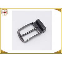 Quality Pin Type Reversible Metal Belt Buckle , Mens Coat Belt Buckles Replacement wholesale