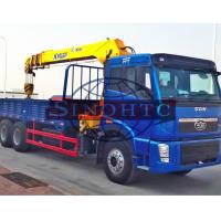 Quality 20 Tons 6x4 / 30 Tons 8x4 Cargo Transport Truck Heavy Duty Truck Mounted Crane wholesale