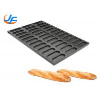 Quality 400*600 Commercial Aluminium Baking Tray Coating Hot Dog Bread Pan Cookie Baking Tray wholesale